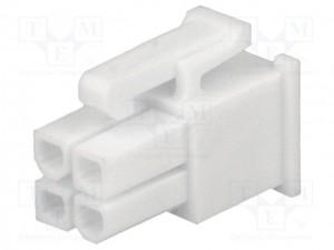 Molex mini fit Serie 4P F