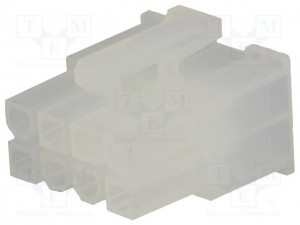 Molex mini fit Serie 8P F