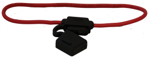 Bladzekeringhouder met draad 0.50 mm²