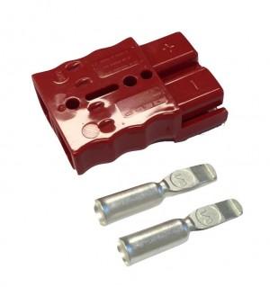 Batterijstekker SB50 rood / 2 stuks