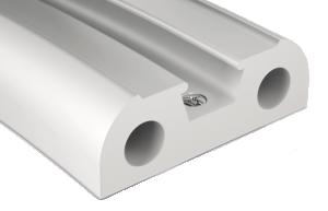 BinoX PVC stootrand onderlijst 40 x 21