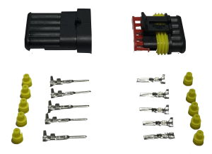 Superseal connector 5 Polig compleet