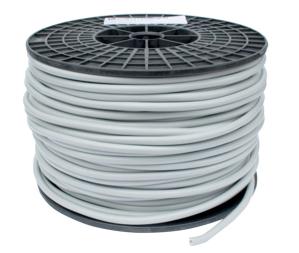 Grijze PVC kabel HO5VV-F