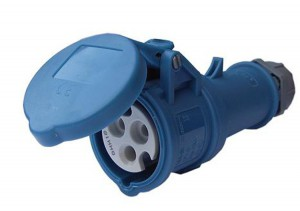 CEE contra stekker 32 Ampere Blauw