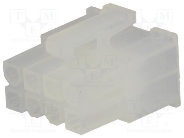 Molex mini fit Serie 8P F