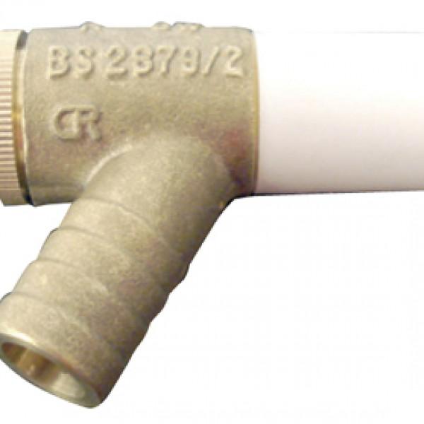 Hep2o Messing Strangaftapper