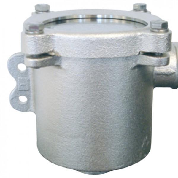 Koelwaterfilter ZIJ-ONDERUITLAAT