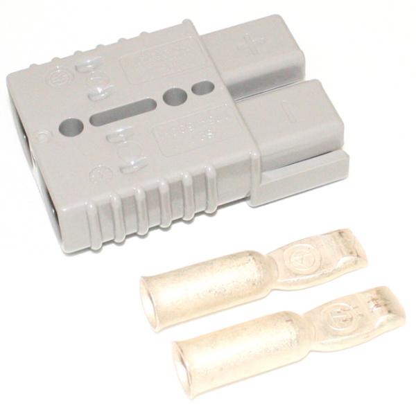 Batterijstekker SB350 grijs / 2 stuks
